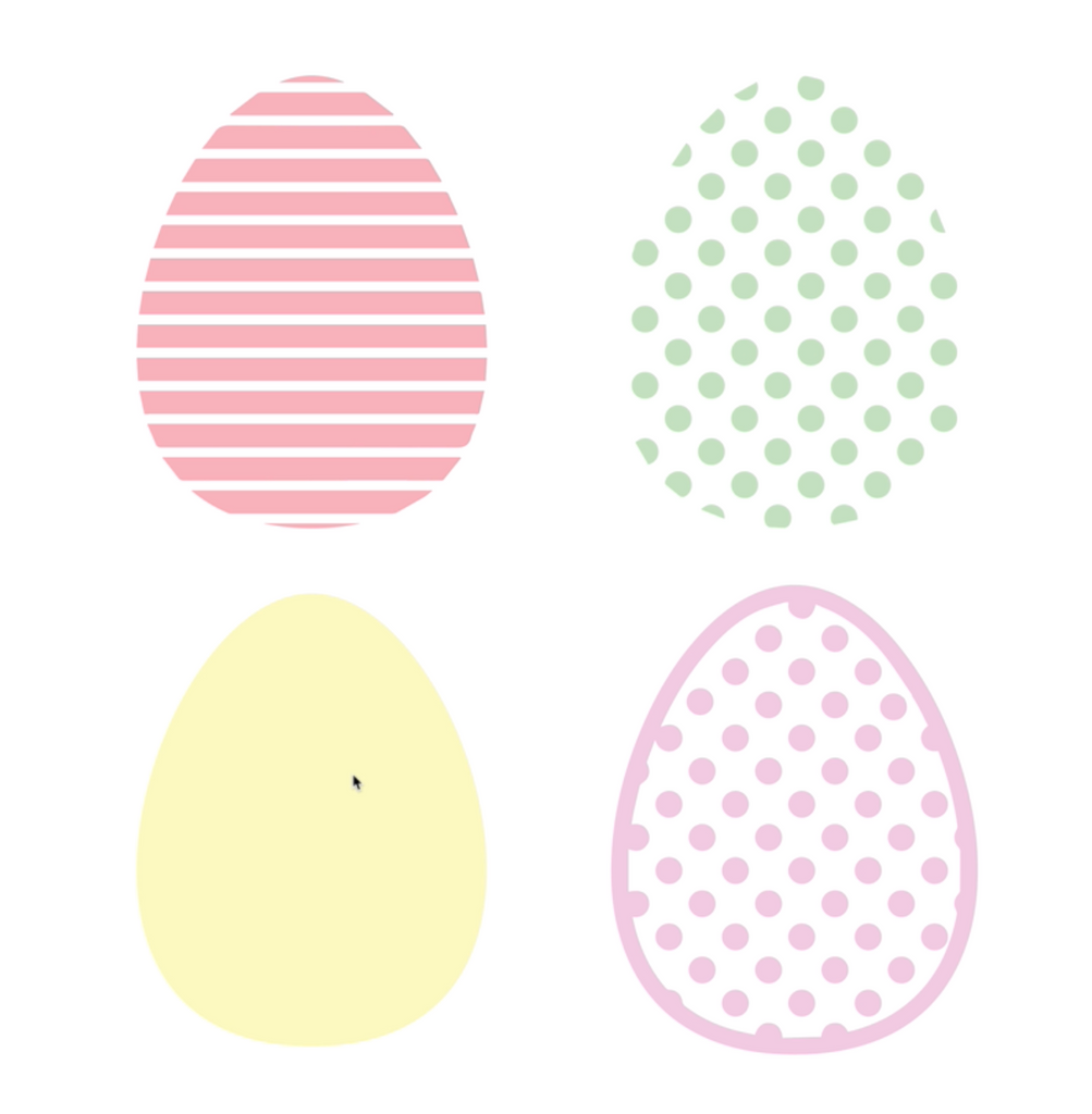 How to Make Patterned Easter Eggs