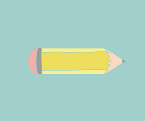 How to Create a Hand Drawn Pencil SVG Design Using Shapes and a Graphics Tablet