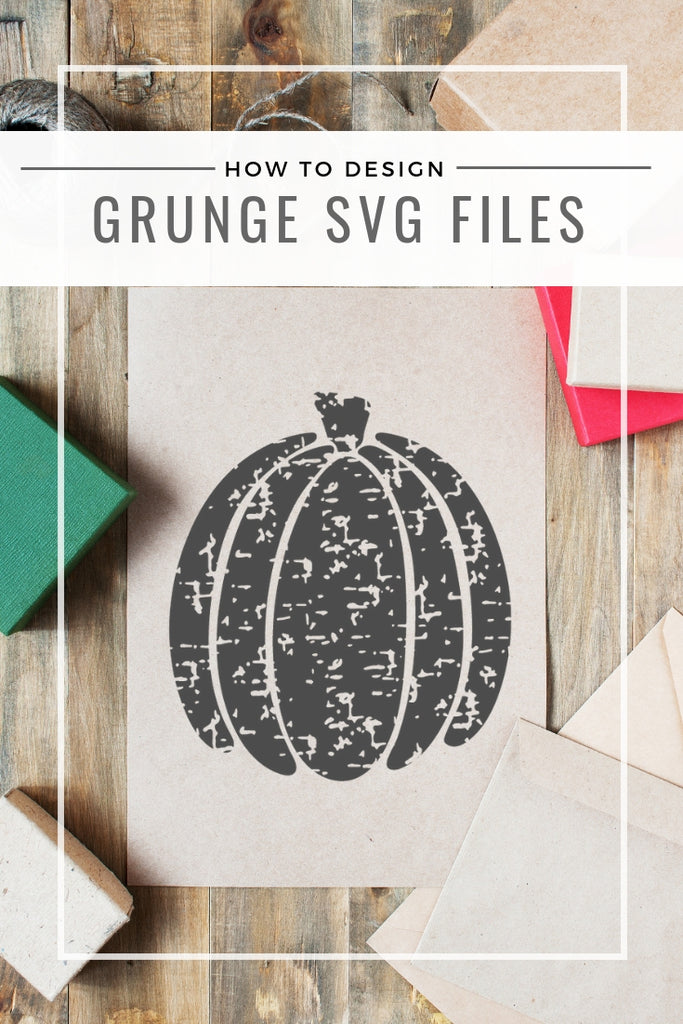 How to design grunge svg files image