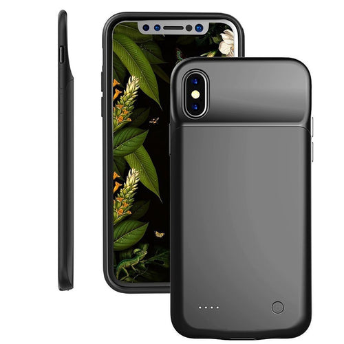 Slim Portable Charger Case iPhone 8 and iPhone X