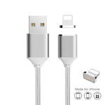 Nylon Braided Magnetic Charging Cable for iPhone