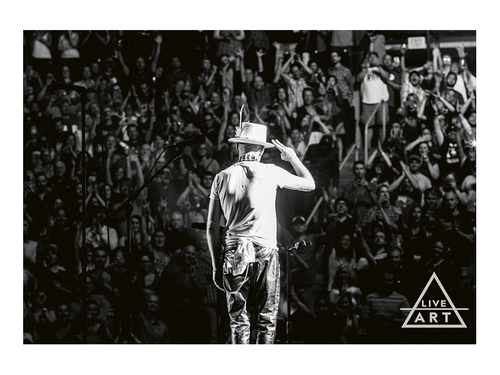 The Tragically Hip - Gord Downie - Salute - Limited Edition Fine Art Print - 8.5 x 11