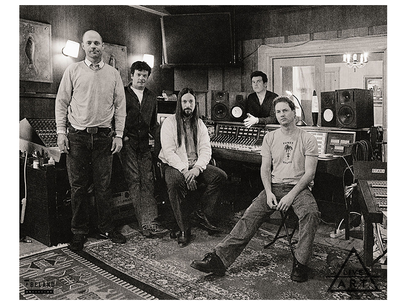 The Tragically Hip - In Between Evolution Outtake #1 - Richard Beland Limited Edition Fine Art Prints - 8.5 x 11