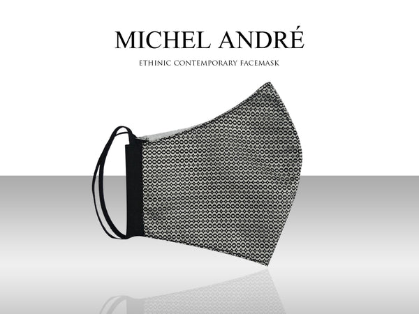 MICHEL ANDRÉ | Ethnic Contemporary Facemask (Tres)