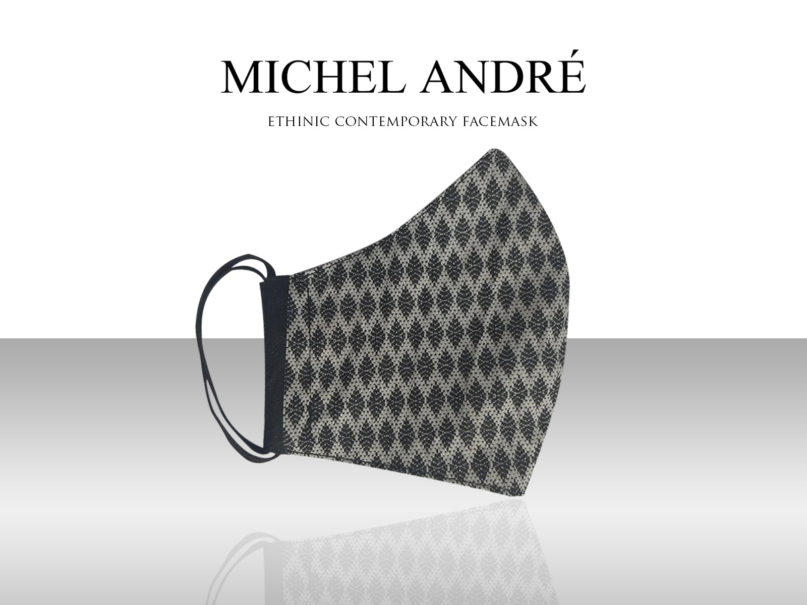 MICHEL ANDRÉ | Ethnic Contemporary Facemask (Dos)
