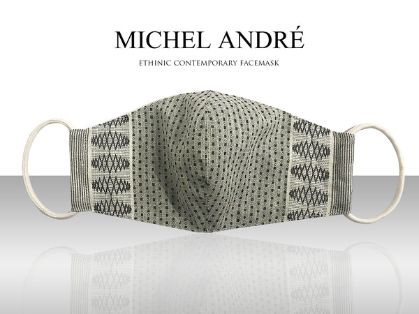 MICHEL ANDRÉ | Ethnic Contemporary Facemask (Uno)