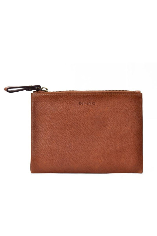 Leather Pouch (S) - Saddle Tan - Divino Leather Goods