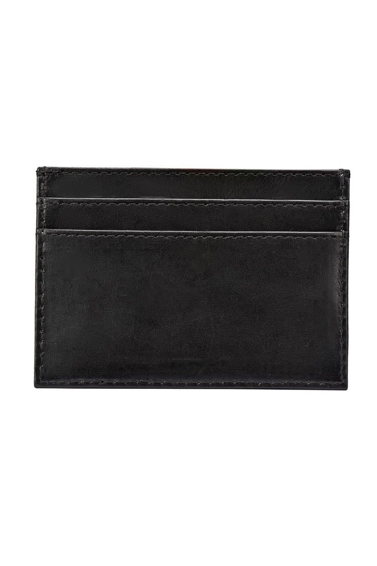 Card Case I - Midnight Black - Divino Leather Goods