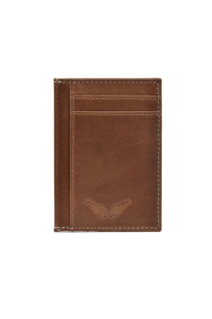 Card Case I - Tan - Divino Leather Goods