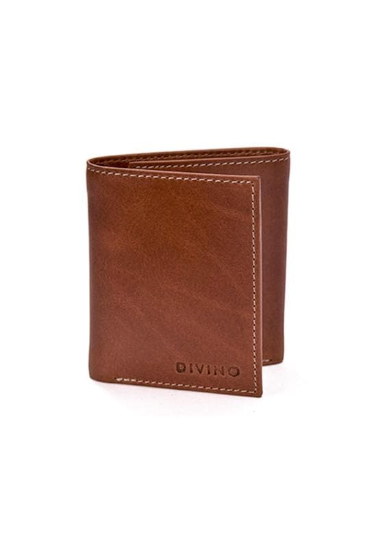 Dexter - Leather Wallet - Tan - Divino Leather Goods