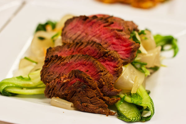Beef and Bok Choy