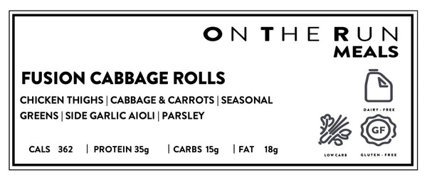 Fusion Cabbage Rolls Low Carb