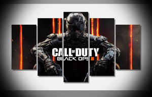 5 Piece Canvas Call of Duty Black Ops III - Urban Street Canvas