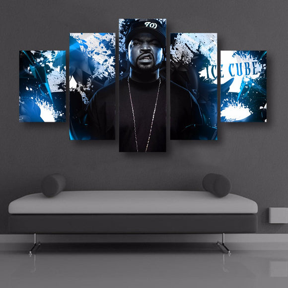 HD Printed 5 piece Canvas Art Ice Cube - Urban Street Canvas