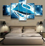 5 Pieces Sharks Canvas Art HD - Urban Street Canvas