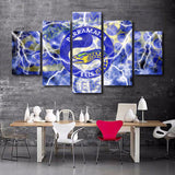 5 Pieces The Parramatta Logo Canvas - Urban Street Canvas
