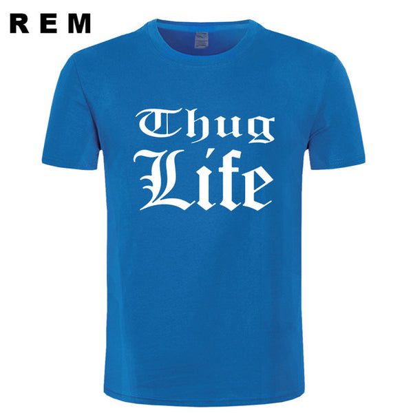 Summer Thug Life Printed Men T Shirts 6 Colors - Urban Street Canvas