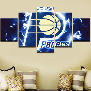 5 Pieces NBA Sports Team Canvas - Urban Street Canvas