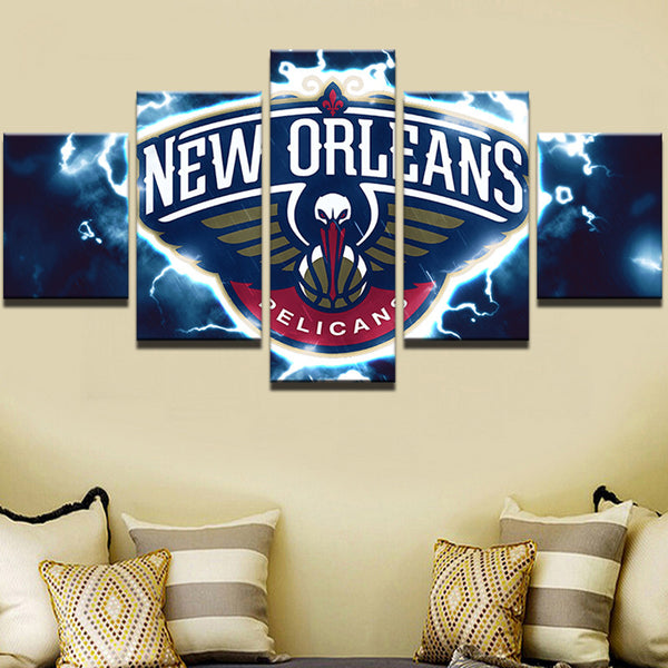 5 Pieces New Orleans Canvas Art Print - Urban Street Canvas