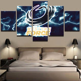 5 Panels Sports Team Canvas Art - Urban Street Canvas