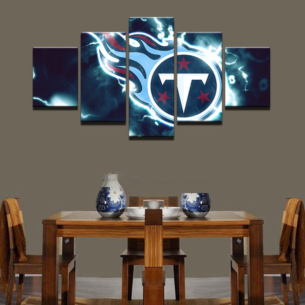 5 Pieces Sport NFL Canvas Painting - Urban Street Canvas
