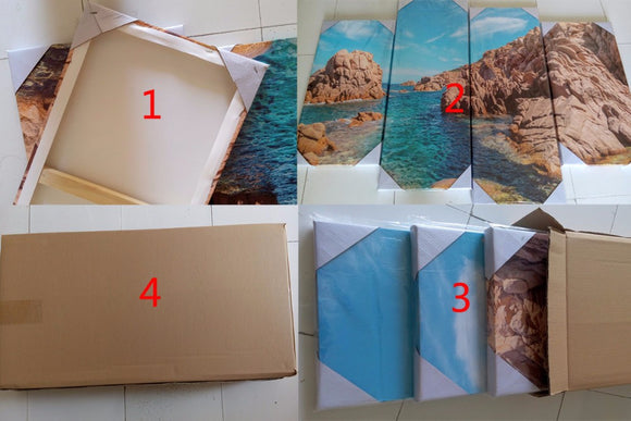 High Quality 5 Piece Wood Frames For Painting On Canvas (Frame Only)