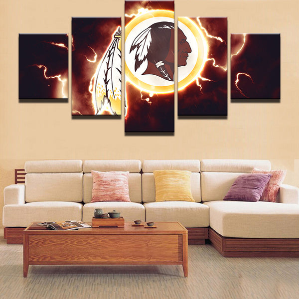 5 Pieces NFL Sport Modular Canvas - Urban Street Canvas