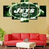 5 Pieces NFL Sport Modular Picture Canvas - Urban Street Canvas