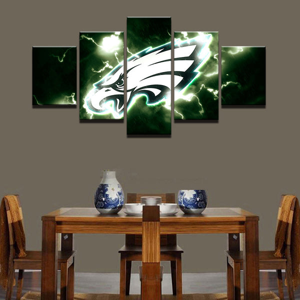 5 Pieces NFL Sport Wall Canvas - Urban Street Canvas