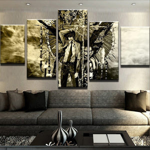 5 Piece Anime Cartoon Character Canvas - Urban Street Canvas