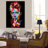 Modern Canvas Painting Wall Art 1 Panel David Bowie - Urban Street Canvas