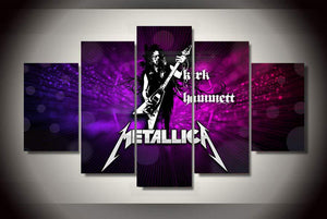 5 Pieces Kirk Metallica Canvas - Urban Street Canvas