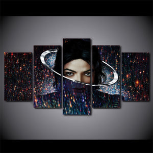5 Pieces Music Michael Jackson Canvas - Urban Street Canvas