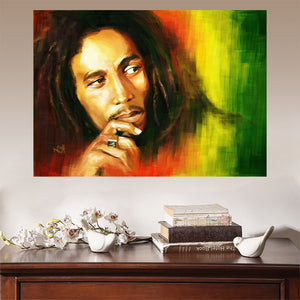 Framed 1 Piece Reggae Originator Bob Marley Framed - Urban Street Canvas
