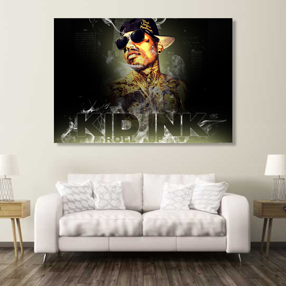 1 piece Canvas Art KID INK - Urban Street Canvas