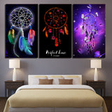 3 piece Canvas Art Dreamcatcher Canvas - Urban Street Canvas
