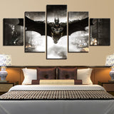 5 Piece Batman Canvas - Urban Street Canvas