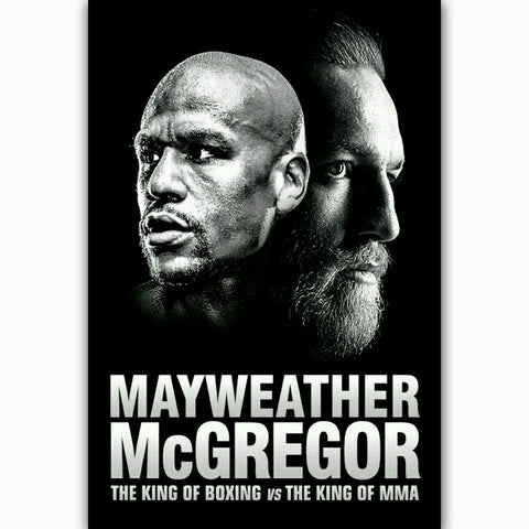Conor McGregor vs Floyd Mayweather Canvas