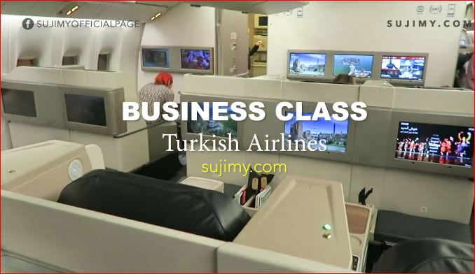 I was on a trip to Turkey in May and Turkish Airlines sponsored my flight on Business Class.