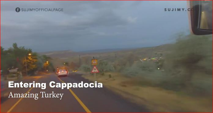 Entering Cappadocia, Turkey. It's just beautiful.
