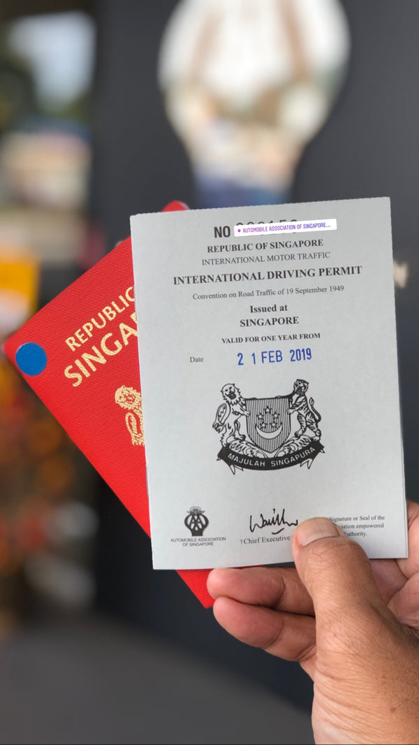 It's easy to get International Driving Permit