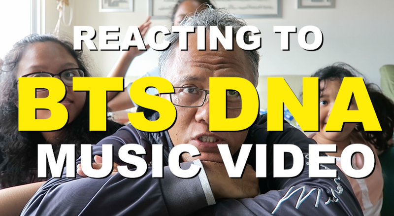Reacting to BTS DNA music video