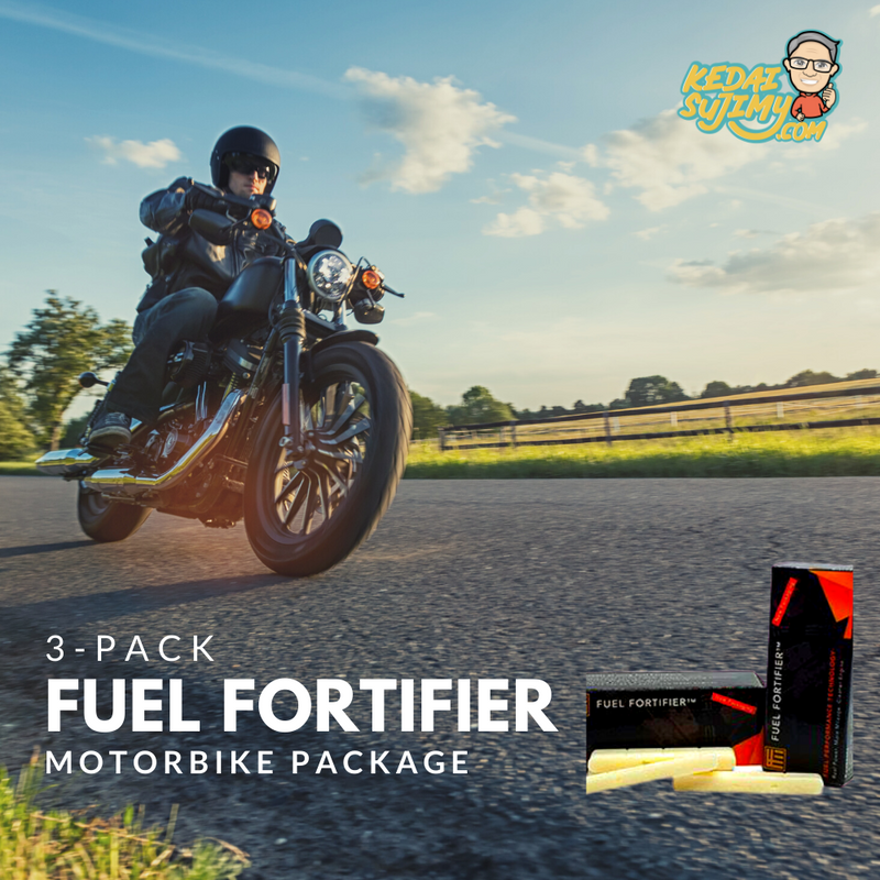 3-pack Fuel Fortifier - Motorbike Package