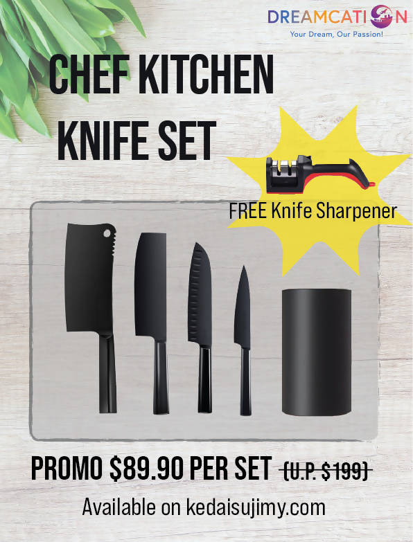 Chef Kitchen Knife Set