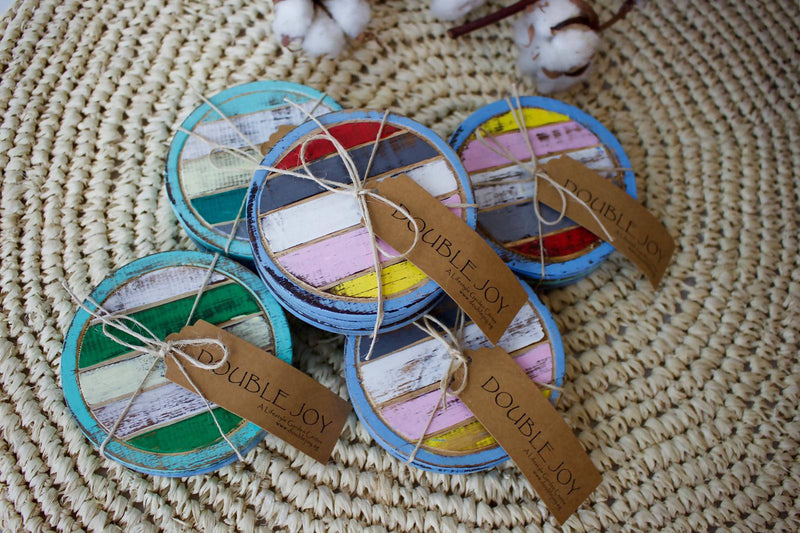 Coaster Boat Set Of Three