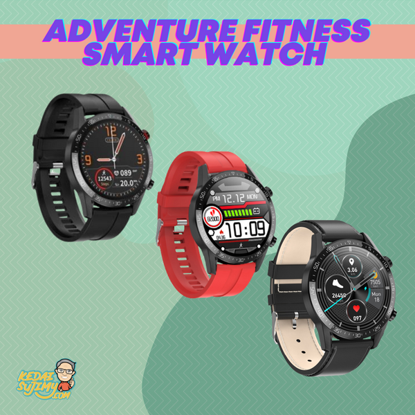 Adventure Fitness Smart Watch