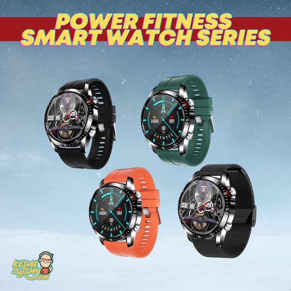 Power Fitness Smart Watch