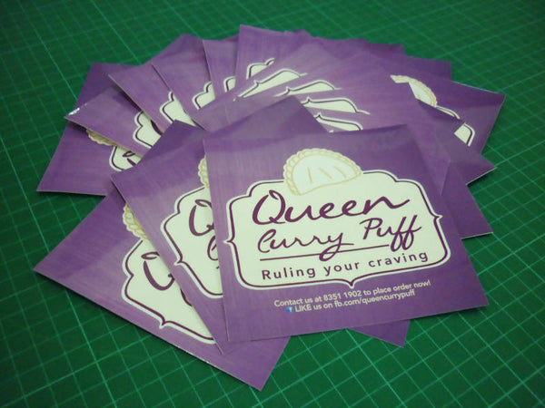 Stickers, 10cm x 10cm (100pcs)