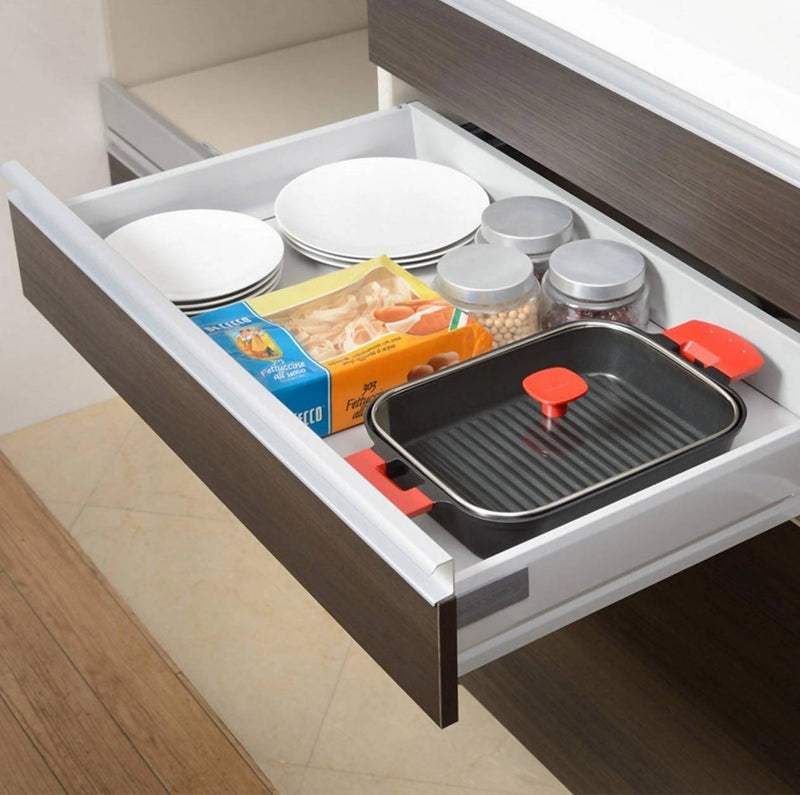 Uchicook Steam Grill with Glass Lid