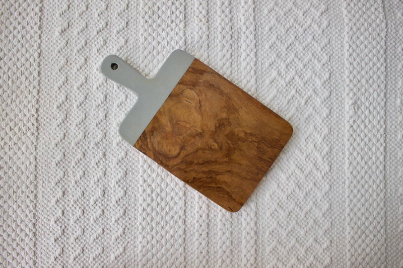 Wooden Chopping Board Grey S
